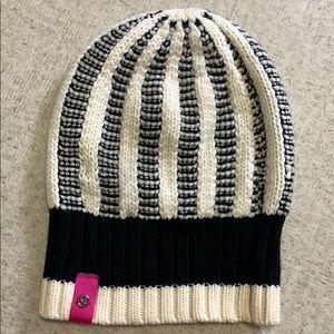 Lululemon Athletica knit striped hat